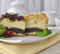 Seromakowiec, ciasto serowo-makowe - PRZEPIS