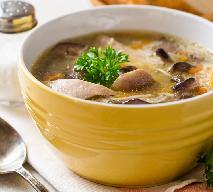 Doskonała zupa z maślaków