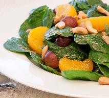 Włoska sałatka z mandarynkami i pieczarkami