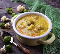 Wegańska zupa z brukselki i kalafiora: zdrowa porcja warzyw dla twojej rodziny
