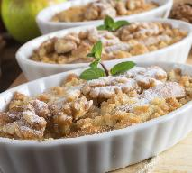 Crumble (owoce pod kruszonką) - pyszny i łatwy deser