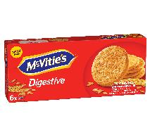 McVitie´s Digestive The Original – brytyjskie ciasteczka idealne do herbaty!