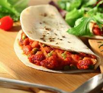 Tortilla z warzywami po meksykańsku
