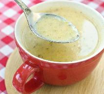Zupa serowa z grzankami - prosty przepis