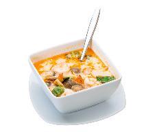 Zupa tajska z nutą imbiru: przepis