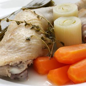 Pot-au-feu z kurczaka - przepis