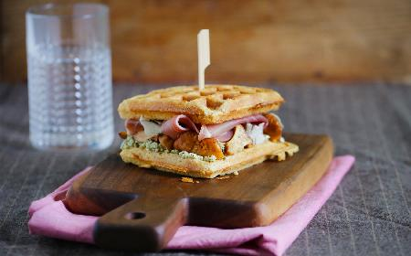 Gofry z kurkami: idealne na śniadanie + WIDEO z innym przepisem!