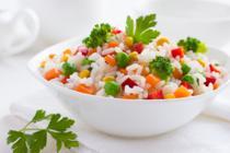 Sałatki z ryżem
