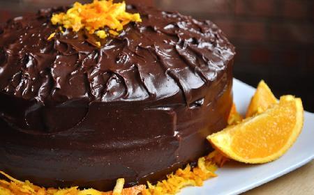Ciasto czekoladowo-pomarańczowe