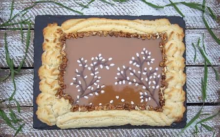 Mazurek kajmakowy - babciny przepis na Wielkanoc