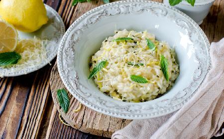 Cytrynowe risotto: kremowe, łatwe, pyszne