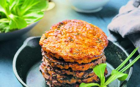 Placki z mąki grochowej: idealne dla wegan, wegetarian