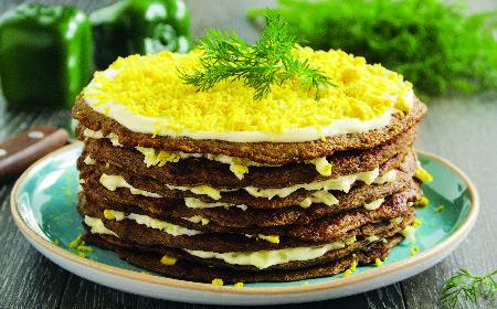 Tort wątróbkowy: przepis na ukraiński tort z wątróbki
